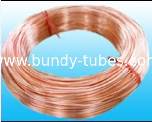 Copper Coated Bundy Tubes 6 mm X 0.65 mm  For Evaporators