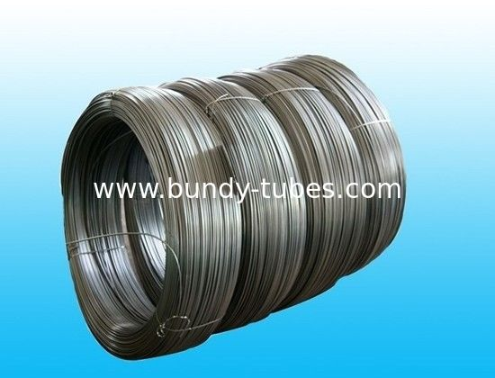 Plain Steel Bundy Tube For Refrigeration , Heaters 4mm X 0.5 mm